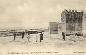 CPA Maroc El-Aioun-Sidi-Mellouk Les Remparts (23165)