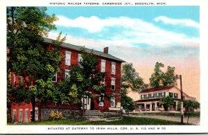 Michigan Brooklyn Cambridge Junstion Historic Walker Tavern