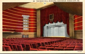 Misouri Kansas City Municipal Auditorium The Music Hall Curteich