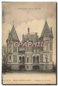 Postcard Old Saint Benin D'Azy Chateau seen ratings Chateau de la Nievre