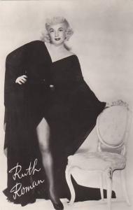 Ruth Roman Warner Brothers Real Photo