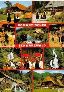 Romantischer Schwarzwald, Traditional Costumes House Waterfall Mill Muehle