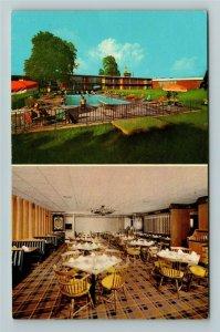 Lexington KY- Kentucky, Holiday Inn, Advertising, Chrome Postcard
