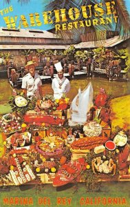 The Warehouse Restaurant Marina Del Rey, California Vintage Postcard ca 1960s
