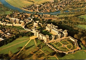 England Windsor Castle Aerial View From Southeast 1980