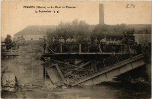 CPA FISMES - Le Pont de Fismette (490555)