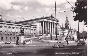 RP, Parlament Mit Rathaus, Wien (Vienna), Austria, 1920-1940s