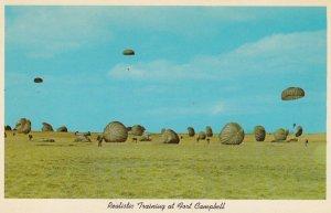 Parachutting , FORT CAMPBELL , Kentucky , 1950-60s