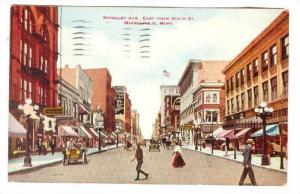 Nicollet Avenue from Ninth Street, Minneapolis, Minnesota, PU-1916