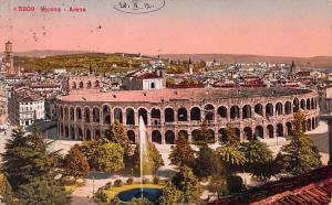 Arena, Verona, Italy, Early Postcard, Used in 1910