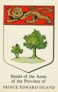 PRINCE EDWARD ISLAND, Canada, 1940-1960s; Shield of Arms
