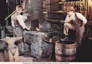 Blacksmith Shop , Sherbrook Village , Nova Scotia , Canada , 50-70s