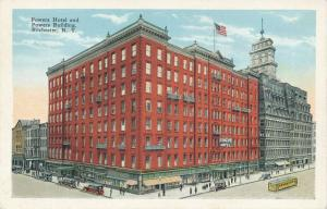 Powers Hotel and Powers Building, Rochester, New York - WB