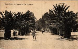 CPA  Bandol - Promenade des Palmiers  (635403)