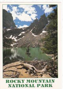 Colorado Rocky Mountain National Park Emerald Lake