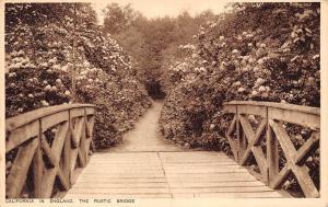 California in England, The Rustic Bridge