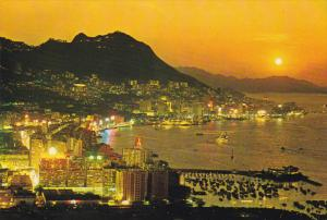 Sunset View, Central and Eastern Districts of the City, HONG KONG, China, 50-...