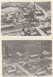 Witwatersgrand South African Gold Mines 2x Aerial Mining Postcard s
