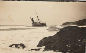 RP, HONDO , California , 1911 ;S.S. Santa Rosa shipwreck
