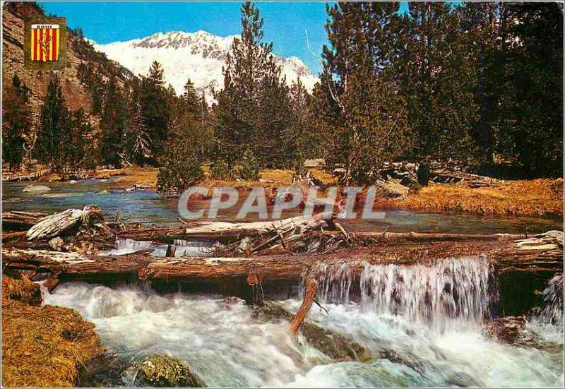 Postcard Modern Pirineu Catala (Lleida) Vall Hohe Algae Tortes National Park
