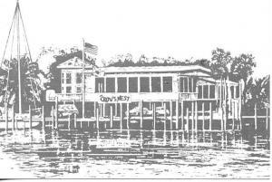 FL - Venice, The Crow's Nest Marina Restaurant & Tavern    Artist Signed: L. ...