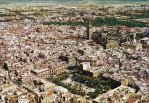 Spain Sevilla Aerial View