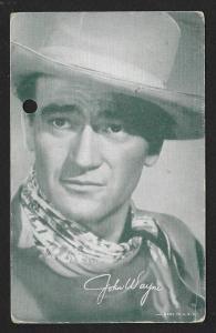 ARCADE CARD Cowboy Entertainer John Wayne
