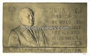 William Sideny Porter Raleigh NC Unused