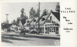 RP: BIG BEAR LAKE , California , 1930-40s ;  Main Street