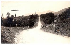 Pennsylvania Aaronsburgh , Street View into town  RPC