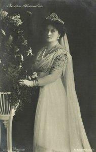 Empress of Russia Tsarina Alexandra Feodorovna (1912) RPPC Postcard