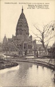 Marseille CPA exposition Coloniale 1922- Palais de l'Ino-Chine Temple.. (174434)