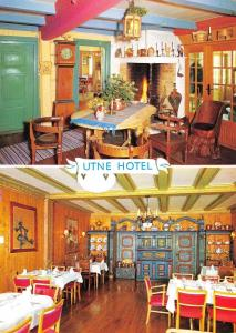Norway Postcard Utne Hotel, Utne, Hardanger Fjord Z71