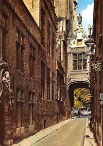 Belgium Brugge Bruges Blinde Ezelstraat Street