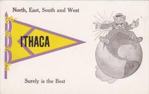 New York Ithaca Surely Is The Best Pennant Series
