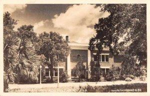 New Port Richey Florida Pierce Grammers School Real Photo Postcard AA6919