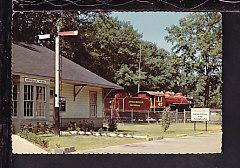 Rodgers Memorial Highland Park,Meridian,MS Postcard