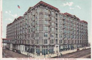 California San Fracisco Palace Hotel Market And New Montgomery Streets