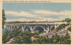 COLUMBIA, SC, 30-40s ; Jefferson Davis Highway Bridge over Congaree River # 2
