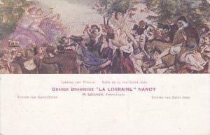 France Nancy Grande Brasserie La Lorraine