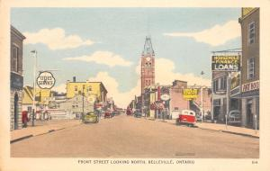 Belleville ON Cities Service Gas Station~Chrysler-Plymouth Dealer~HF Loans 1940s