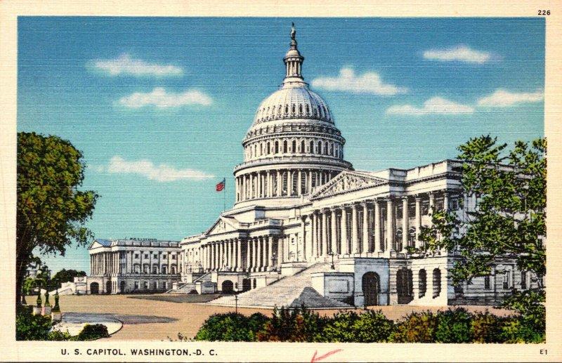 Washington D C United States Capitol