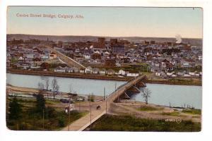Town View with Centre Street Bridge, Calgary, Alberta