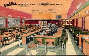 Florida Miami Beach Wolfie's Restaurant & Sandwich Shops Lincoln Road & ...