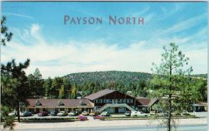 PAYSON, AZ Arizona     SWITZERLAND in ARIZONA Street Scene  c1960s  Postcard