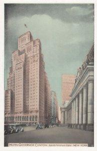 NEW YORK CITY , 1930s ; Hotel Governor Clinton