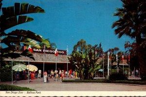 California San Diego Zoo Entrance