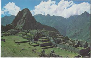 Zona Industrial Zone, Machupicchu, Peru, unused Postcard