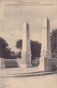 Monument En Memoire Des Morts Heroiques De La 3 Division Des Etats-Unis, Chat...