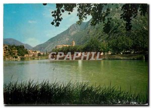 Postcard Modern Breil sur Roya Alpes Maritimes Lake